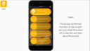 Thư mục Learn, được phát triển dựa trên ứng dụng Tip được cài đặt sẵn trên iOS 8, giúp bạn dễ dàng tìm hiểu mọi thứ về thiết bị bạn đang sử dụng.