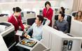 Cathay Pacific Airways của Hong Kong xếp vị trí thứ 3