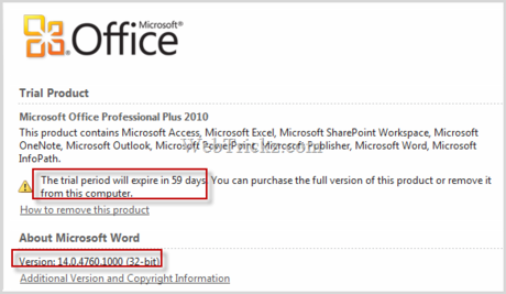 office 2010 trial download 64 bit