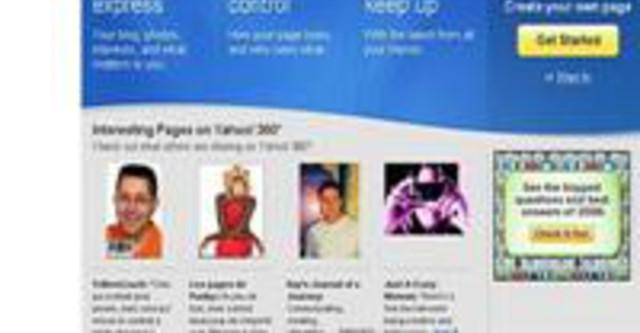 Đây là thông tin chính thức từ đội ngũ phát triển dịch vụ blog của Yahoo!  Như vậy, những lo âu của giới blogger Việt đang sử dụng Yahoo! 360 đã thành.