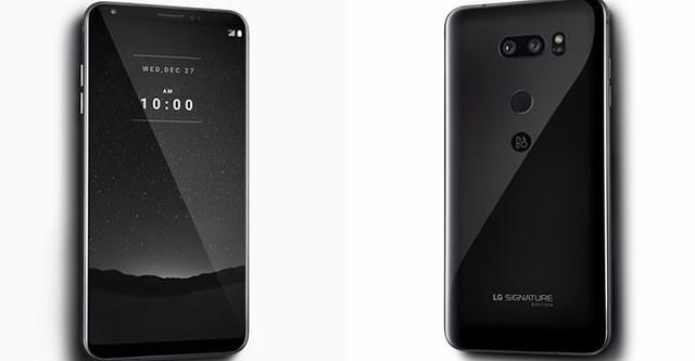 LG V30 Signature Edition vỏ gốm trang bị RAM 6 GB ra mắt