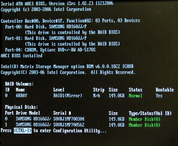 Hướng dẫn xây dựng RAID cho máy PC - Thông tin công nghệ
