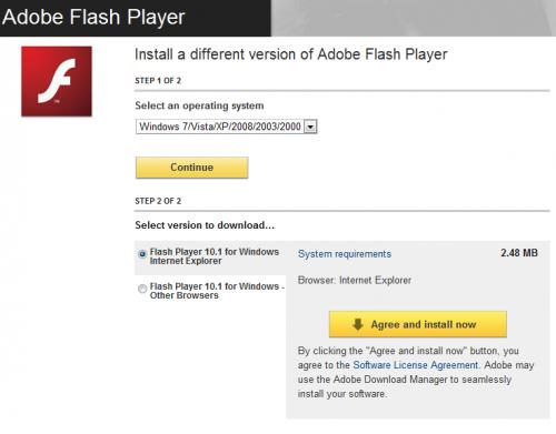 Vừa qua Adobe đã phát hành phiên bản chính thức của Flash Player 10.1 sau  hàng loạt phiên bản beta và tiền chính thức. Phiên bản mới này cũng sửa một.