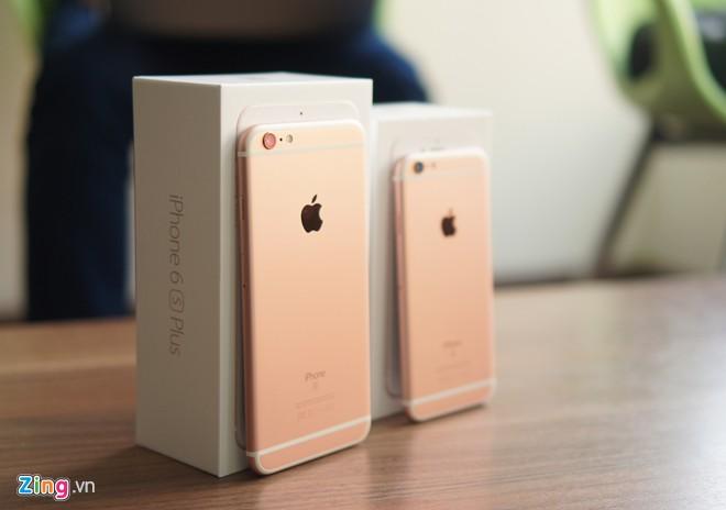 Được dự báo từ trước là sẽ khan hàng trong giai đoạn đầu, iPhone 6s và 6s  Plus màu vàng hồng đang có mức chênh giá lớn so với các màu còn ...