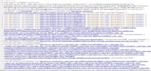 Ở trang mã nguồn Facebook của bạn, hãy nhấn tổ hợp phím Ctrl + F để mở  thanh tìm kiếm trên trình duyệt, sau đó gõ vào dòng chữ  InitialChatFriendsList trong ...